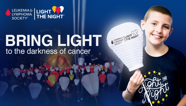 Light the Night walk for the Leukemia & Lymphoma Society